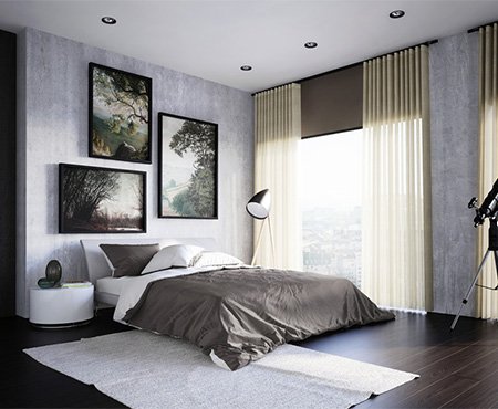 Luxury Curtians for Bedrooms