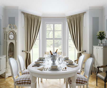 Luxury Curtians for Dining Rooms