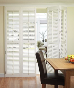Tracked Style Shutters